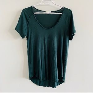 Aritzia Tops - Aritzia Wilfred T-Shirt with Ruffled Bottom